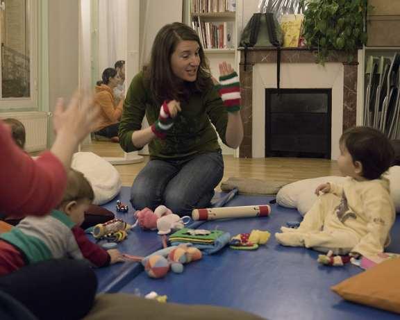 Atelier de Communication Gestuelle Signes avec bébé